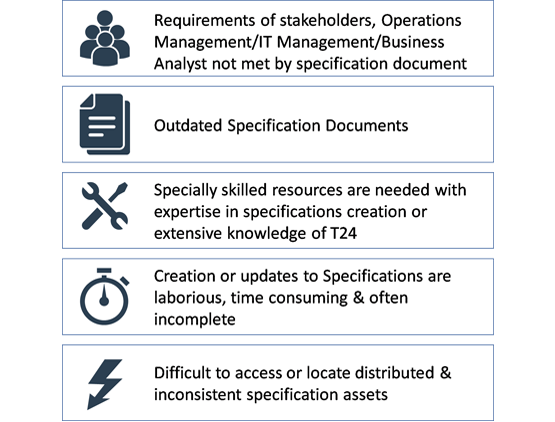 Challenges in Generating Automated Specification Documents