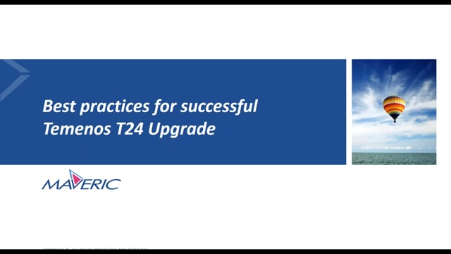 Temenos T24 Upgrade