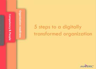 5 steps to a digitally transformed organization