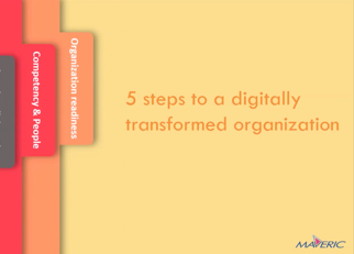 5 steps to a digitally transformed organization