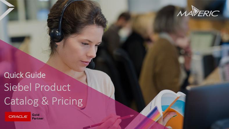 Siebel Product Catalog
