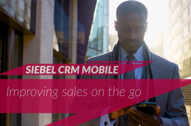 Siebel CRM Mobile Solution