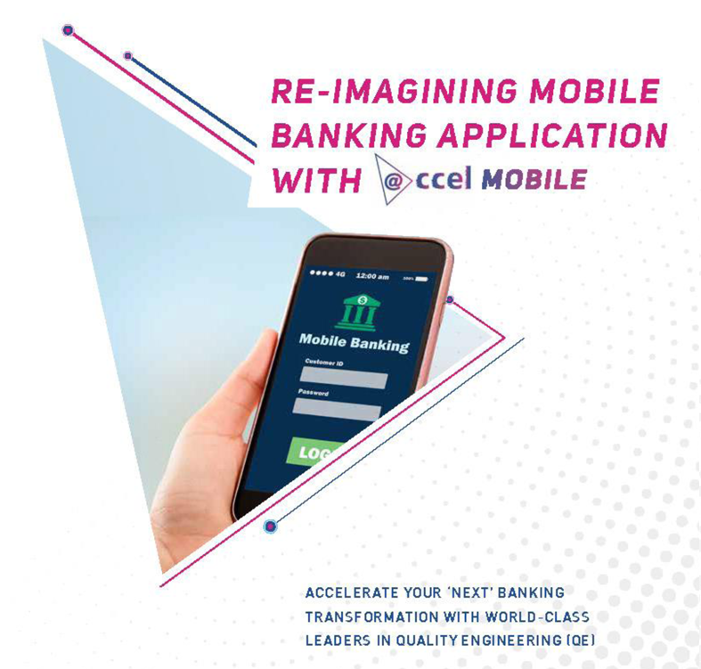 Re-imagining mobile banking application with @ccel Mobile